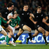 Zac Guildford of the All Blacks is tackled by Jonathan Sexton of Ireland during the International Test Match between the New Zealand All Blacks and Ireland. Photo / Getty Images.