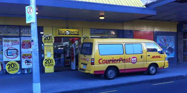 This courier was spotted on Karangahape Road. Photo / Supplied