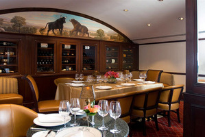 The Bull and Bear Steak House. Photo / Supplied