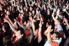 Hundreds of people attended the Raggamuffin Roadshow. Photo / Stephen Parker