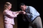 Emma Pearson as Gilda and Rafael Rojas as the Duke of Mantua in the NBR New Zealand Opera production of 'Rigoletto.' Photo / Supplied