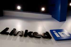 Access codes for LinkedIn accounts may sell for as little as US$1. Photo / AP