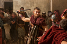 Liam McIntyre portrays the title role in a scene from Spartacus: Vengeance. Photo / supplied