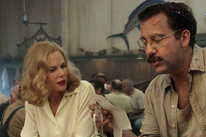 Nicole Kidman, left, and Clive Owen are shown in a scene from 'Hemingway & Gellhorn.' Photo / Supplied