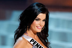 Miss Pennsylvania Sheena Monnin claims the Miss USA competition was rigged. Photo / AP