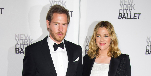 Will Kopelman and Drew Barrymore have tied the knot. Photo / AP