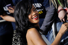 Rihanna was caught off guard by criticism of her recent collaboration with Chris Brown. Photo / AP