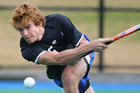 Black Sticks' Andy Hayward at training. Hayward's drag flick ensured a win for the Kiwis against Argentina. Photo / Joel Ford