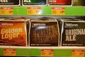 A minimum $1 or $1.50 more per standard drink could almost double the cost of a 12-pack of beer. Photo / APN