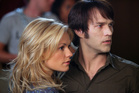 Anna Paquin and Stephen Moyer in a scene from True Blood. Photo / Supplied
