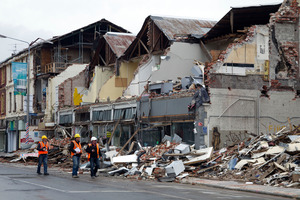 The timing and size of the spending for rebuilding work remain uncertain, says report. Photo / Simon Baker