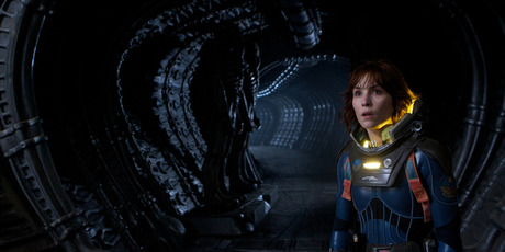 Noomi Rapace had big shoes to fill as the female lead in Prometheus, after Sigourney Weaver's popularity in Alien. Photo / Supplied