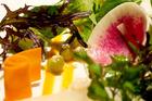 Kazuya's 30-vegetable selection. Photo / Steven McNicholl