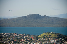 Rangitoto and Mt Victoria are part of the Tamaki Collective agreement. Picture / Dean Purcell.