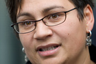 Green Party co-leader Metiria Turei backs the Living Wage Campaign. Photo/ File