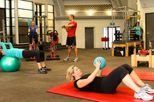 The advantage of circuit training is that all your muscles get a workout. Photo / Supplied