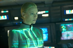 Charlize Theron in a scene from Prometheus. Photo / Supplied