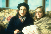 Melanie Lynskey (left) as Pauline Parker and Kate Winslet as Juliet Hulme in Peter Jackson's Heavenly Creatures.