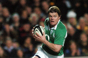 Brian O'Driscoll. Photo / NZ Herald