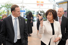 Prime Minister John Key with Education Minister Hekia Parata. Photo / File