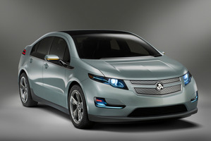 The Holden Volt will be coming to New Zealand towards the end of the year. Photo / GM