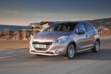 The new Peugeot 208, pictured at its swanky launch in Lisbon, will land here in September. Photo / Supplied