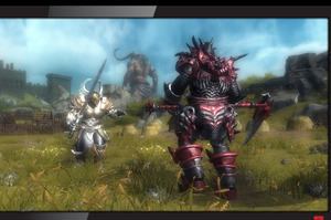 The upcoming title 'Ascend: New Gods', shown on Xbox 360 with added SmartGlass features. Photo / Supplied