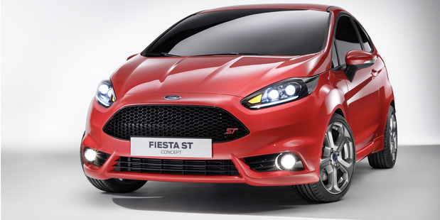 Ford's Fiesta ST may not be the quickest version of the company's little shopping basket. Photo / Supplied
