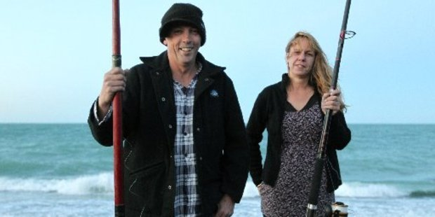 "Stephen Fraser, 43, is being hailed as a ""national hero"".  He is pictured with friend Steph Ballingall"