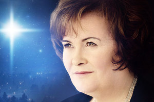 Susan Boyle shocked families by breaking down in a motorway service centre. Photo / Supplied