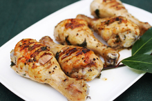 Herbed chicken drumsticks. Photo / The Aucklander