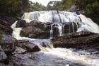 Stewart Island's Belltopper Falls. Photo / Philip Riley