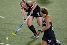 Katie Glynn scored for the Black Sticks. Photo / Sarah Ivey
