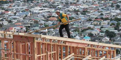 Fewer homes were built in the March quarter. Photo / File