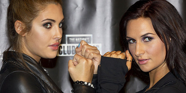 Jaime Ridge will take on Rosanna Arkle in a six-minute boxing bout in July. Photo / Brett Phibbs