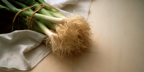 Homegrown leeks repay you in flavour for their fiddliness to plant. Photo / Thinkstock