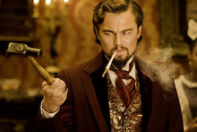 Leonard DiCaprio in a scene from Quentin Tarantino's new film Django Unchained. Photo / Supplied