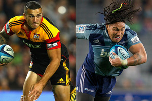 Sonny Bill Williams (left) and Ma'a Nonu. Photos / Getty Images, Greg Bowker