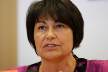Education Minister Hekia Parata announced the back down on class sizes today. Photo / Mark Mitchell