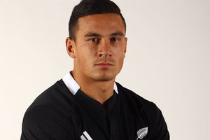 Steve Hansen says Sonny Bill Williams is easily the country's form second-five. Photo / Getty Images.