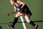 Stacey Michelsen scored for the Black Sticks before they switched off and lost 4-3 to Korea. Photo / Natalie Slade