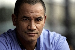 "Temuera Morrison: This cannibal flick is ""not real"" so don't worry."