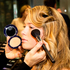 Molloy applies bronzer after having primed the skin with foundation.  Photo / Babiche Martens