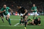 Steve Hansen was particularly happy with the three debutants performance, but he also commended his senior players for guiding the team to its first win since winning the world cup final.