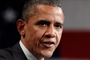 Barack Obama rejects accusations. Photo / Pablo Martinez Monsivais