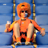 A Dutch fan sits on a tribune before the Euro 2012 soccer championship Group B match between the Netherlands and Germany in Kharkiv, Ukraine. Photo / AP
