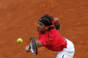 Rafa Nadal's record at the French Open is unrivalled. Photo / Michel Spingler