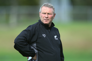 Coach Ricki Herbert is likely to make a raft of changes for the All Whites' final game. Photo / Brett Phibbs