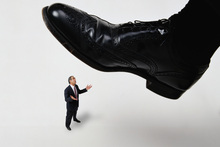 Don't do it ... that manager is as unnecessary as a five-bladed razor, but we need him. Photo / Thinkstock