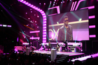 R&B star Usher performs in support of Dance Central 3 during Xbox's press conference. Photo / Troy Rawhiti-Forbes